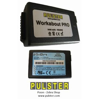 Psion Workabout PRO - battery 3400mAh - like WA3006 + WA3025