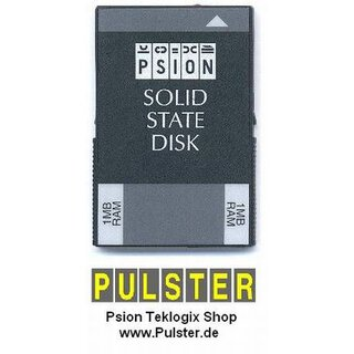 Psion Workabout Speicher SSD 1 MB RAM