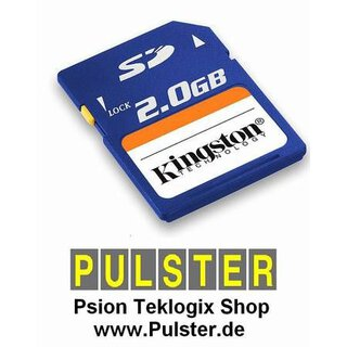 Psion Workabout PRO - Speicherkarte SD 2 GB - GRATIS